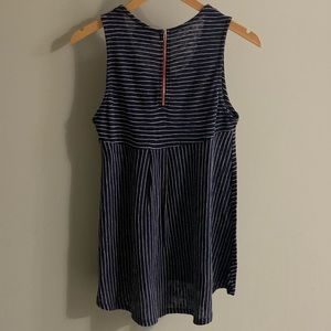 Anthro W5 Concepts Striped High Low Tank